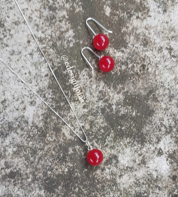 Conjunto Dolomita vermelho pedra Natural