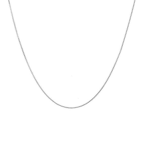 Corrente feminina 45 cm de prata 925